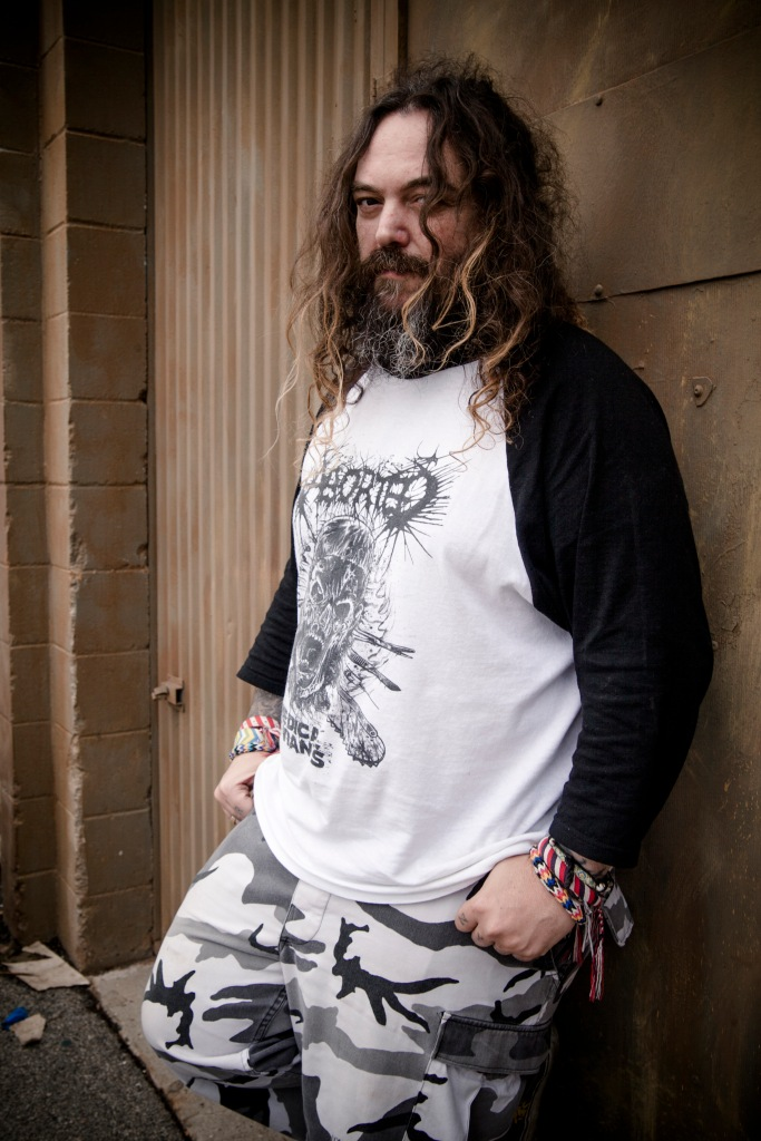 Max Cavalera Photo by Hannah Verbeuren
