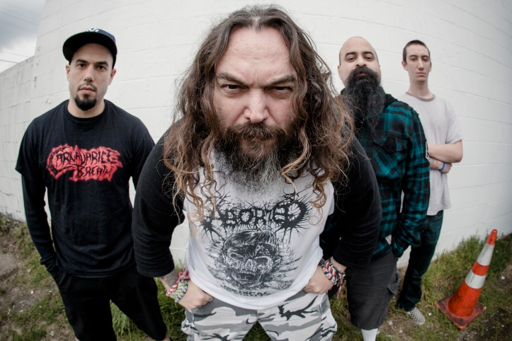 Max Cavalera and Soulfly Photo by Hannah Verbeuren
